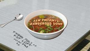 Dangerous Soup - 7/13/2018