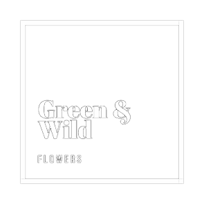 Green and Wild flowers