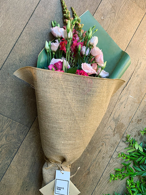 mixed flower eco wrap