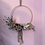 Thumbnail: Dried hoop wreath in whites and natural tones