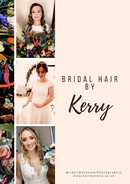 Bridal Hair by Kerry