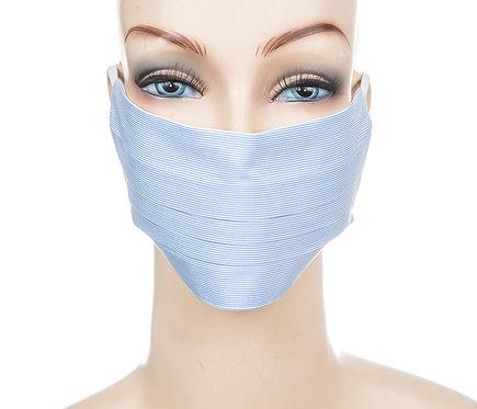 Mund Nasen Maske Baumwolle feine Streifen