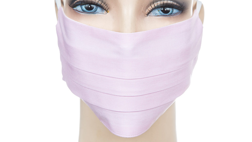 Mund Nasen Maske Baumwolle rosa