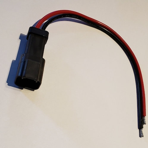 850 Tether connector with pigtail