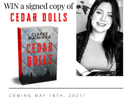 WIN a signed copy of CEDAR DOLLS!