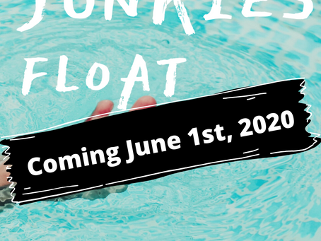 Advanced Review Copies of ALL JUNKIES FLOAT – Now Available!