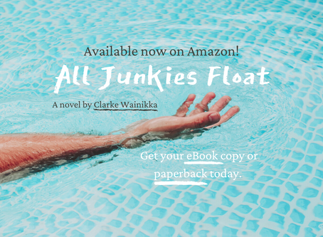 ALL JUNKIES FLOAT - Now available on Amazon worldwide!