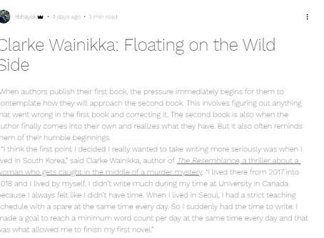 Clarke Wainikka interviews with RBHayek Productions