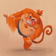Sumo monkey