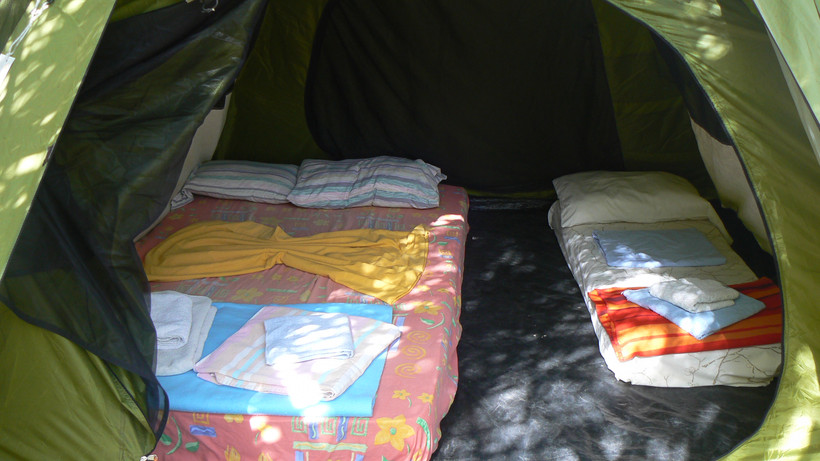 furnished large igloo tent for   rent.JP