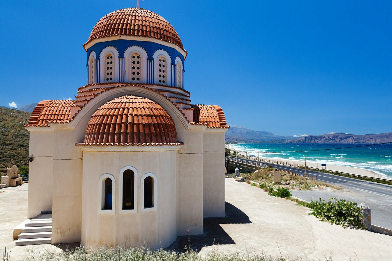 Orthodox church by the sea