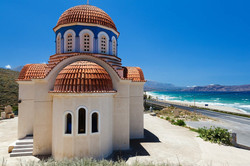 Orthodox church by the sea