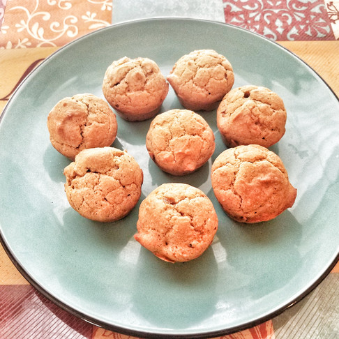 Apple Butternut Cinnamon Mini Muffins for Picky Eaters with Allergies
