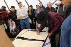 Iinii Treaty Signing