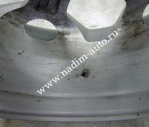 Аргонная сварка Пробойна литом диске