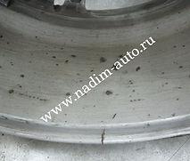 Аргонная сваркаТрещина на литом диске