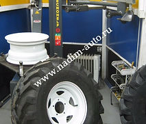 Шиномонтаж Надим-авто Сборка большого авто колеса