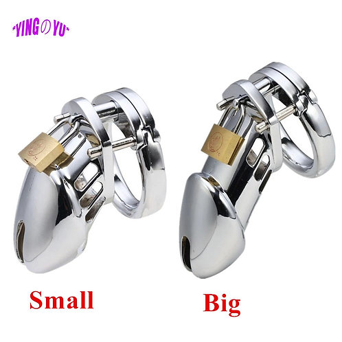 40/45/50mm Male Chastity Device Cock Cage Penis Ring