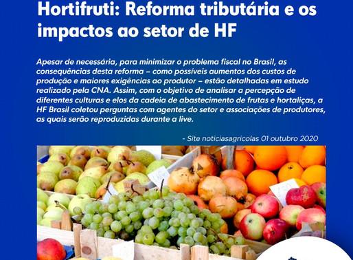 Hortifruti: Reforma tributária e os impactos ao setor de HF