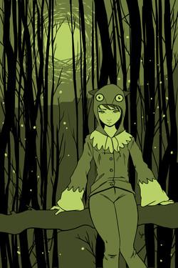 Owl+girl