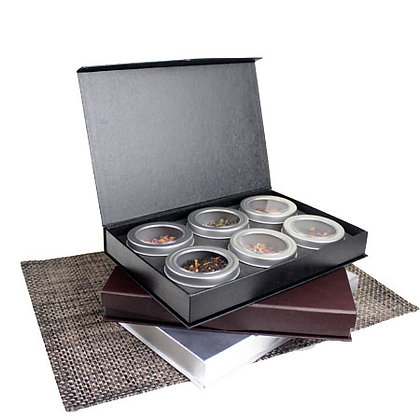 Omakase 6 Tea Gift Box - Brown