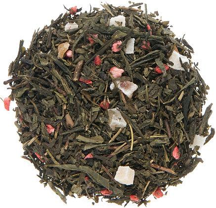 ORGANIC STRAWBERRY GREEN TEA