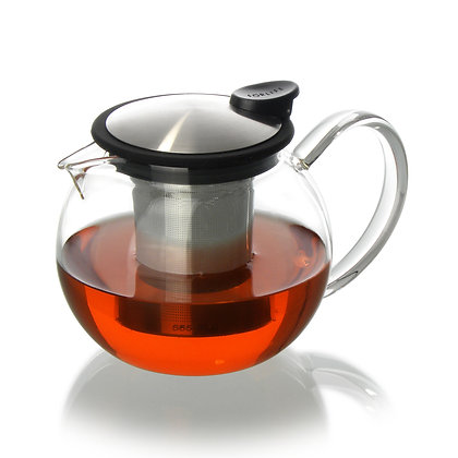 GLASS TEAPOT BLACK