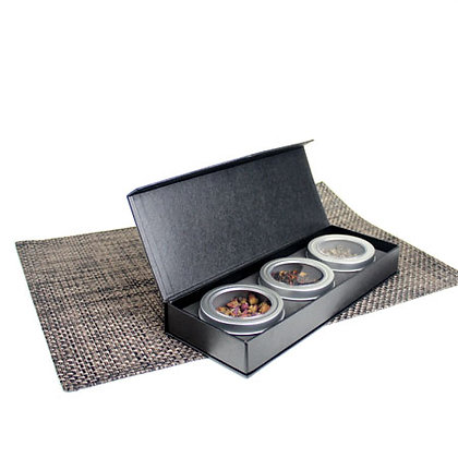 Omakase 3 Tea Gift Box - Black