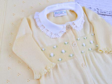 A cor da roupa na maternidade