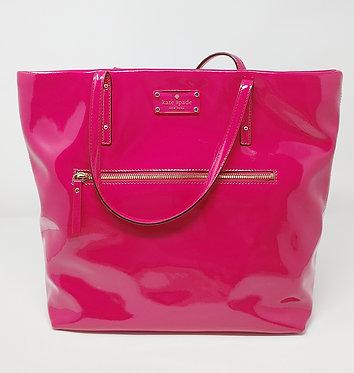 Kate Spade Pink Shiny Tote