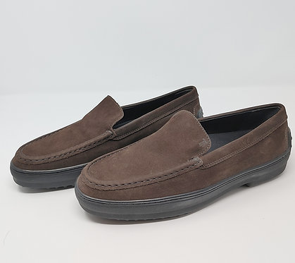 Tod's Brown Suede Loafer 40