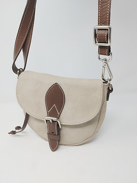 Roots Mini Leather Saddle Bag