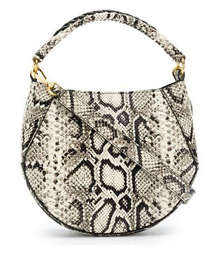Wandler Python Embossed Leather Bag
