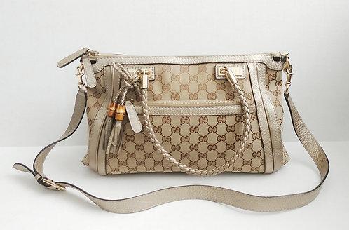 Gucci GG Canvas Bella Top Handle Bag
