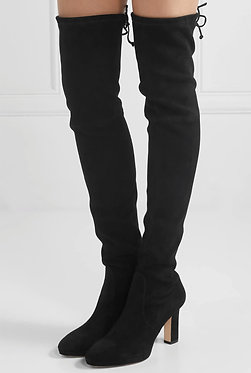 Stuart Weitzman Tie Back Over the Knee Boots 7 1/2
