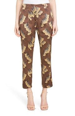 Dries Van Noten Ginko Print Pants Size 6
