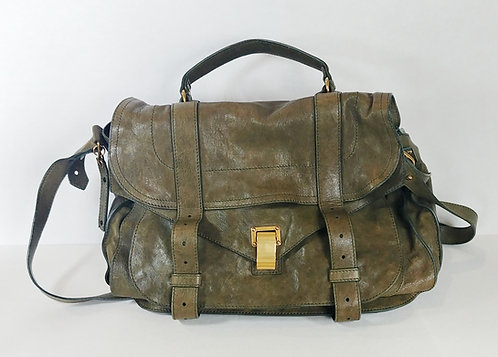 Proenza Schouler PS1 Large Khaki Bag