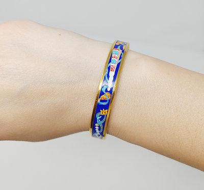 Hermes Enamel Bracelet Fans/Scarves
