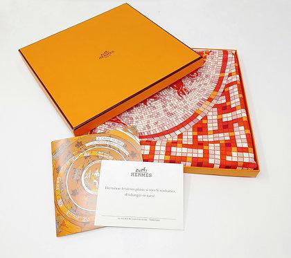 Hermes Mosaique Au 24 90cm Silk Scarf