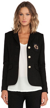 Smythe School Boy 3 Button Jacket Black 6