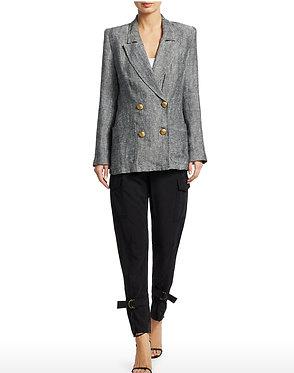 Smythe Herringbone Linen Jacket Medium