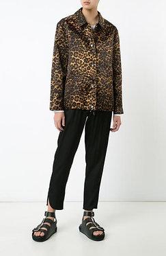 Alexander Wang Leopard Jacket xs