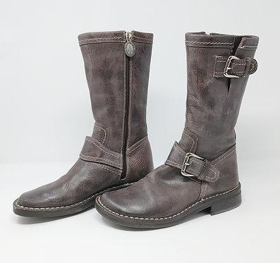 Donald J Pliner Soft Vachetta Expresso Boots 5