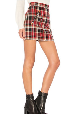 Rag & Bone Plaid Mini Skirt Size 0