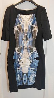 Prabal Gurung Kaleidoscope Print Dress 10