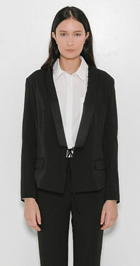 T by Alexander Wang Tie Front Tuxedo Jacket Small