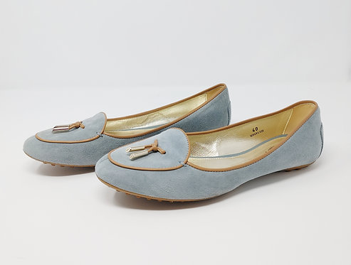 Tod's Suede Flat 40