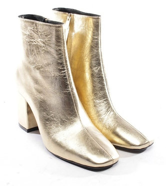 Anine Bing Gold Heeled Bootie 39