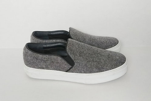 Celine Grey Wool Slip On 38