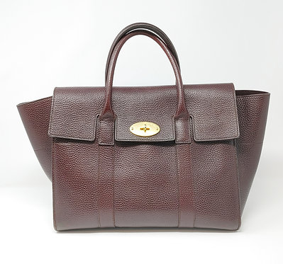 Mulberry Bayswater Bordeaux with Strap